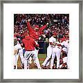 2011 World Series Game 7 - Texas 2011 Framed Print