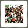 2014 March Madness College Basketball Preview Part II Sports Illustrated Cover Framed Print