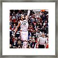 Milwaukee Bucks V Toronto Raptors - Framed Print