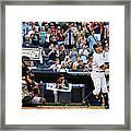 Detroit Tigers V New York Yankees 4 Framed Print
