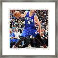 Philadelphia 76ers V Orlando Magic Framed Print