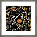 Popular Science Magazine Covers Framed Print