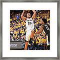 San Antonio Spurs V Golden State Framed Print