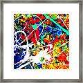 abstract composition K12 Framed Print