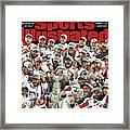 All Caps Washington Capitals, 2018 Nhl Stanley Cup Champions Sports Illustrated Cover Framed Print