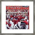 Anaheim Angels John Lackey, 2002 World Series Sports Illustrated Cover Framed Print