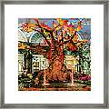 Bellagio Conservatory Enchanted Talking Tree Ultra Wide 2018 2.5 To 1 Aspect Ratio Framed Print