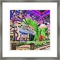 Bellagio Conservatory Spring Display Front Side View Wide 2018 2 To 1 Aspect Ratio Framed Print
