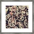 Bike Mountain Framed Print