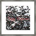 Happy Christmas 12 Framed Print