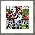Boom Ball-hawking Seattle Takes Its Place Loudly In The Sports Illustrated Cover Framed Print