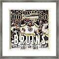 Boston Bruins, 2011 Nhl Stanley Cup Champions Sports Illustrated Cover Framed Print