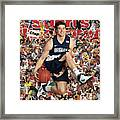 Brigham Young University Jimmer Fredette, 2011 March Sports Illustrated Cover Framed Print