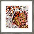 Brother Fish And Sister Starfish In Deep Conversation Framed Print