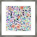 California Rose Garden Framed Print