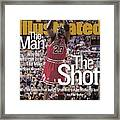 Chicago Bulls Michael Jordan, 1998 Nba Finals Sports Illustrated Cover Framed Print