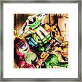 Childhood Collectibles Framed Print