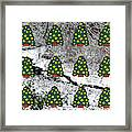 Christmas Trees Framed Print