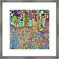City Meets The Bay Framed Print