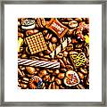 Coffee Candy Framed Print