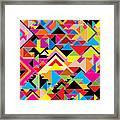 Color Abstract Framed Print
