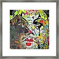 Colorful Makeup Framed Print