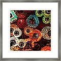 Colorful Turkish Lanterns From The Framed Print