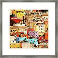 Colors On Hill Framed Print