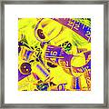 Crafting Colours Framed Print