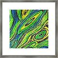 Curved Lines 5 Framed Print