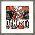 Dabos Dynasty Clemson University, 2019 Cfp National Sports Illustrated Cover Framed Print