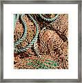 Deep Sea Fishing Nets And Buoys Framed Print