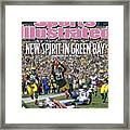 Detroit Lions V Green Bay Packers Sports Illustrated Cover Framed Print