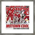 Detroit Red Wings Goalie Chris Osgood, 2009 Nhl Stanley Cup Sports Illustrated Cover Framed Print