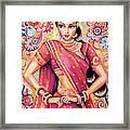 Devika Dance Framed Print