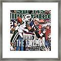 Divisional Playoffs - New York Jets V New England Patriots Sports Illustrated Cover Framed Print