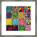 Easter Candies Framed Print