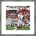 Florida Statement 2013 Bcs Champion Sports Illustrated Cover Framed Print