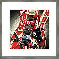 Frankenstrat Studio Shoot Framed Print