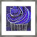 Galactic Universe Cupcake Framed Print