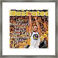 Give Steph Curry An Inch And He Might Take Golden State A Sports Illustrated Cover Framed Print