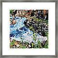 Great Falls Waterfall 201903 Framed Print