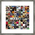 Greatest Rock Albums Of All Time Framed Print