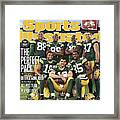 Green Bay Packers The Perfect Pack Sports Illustrated Cover Framed Print