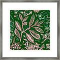 Green Composition Framed Print