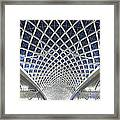 Guangzhou Railway Station Framed Print
