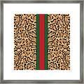 Gucci Leopard Print-1 Framed Print