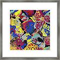 Hammer Flowers Framed Print