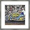 His Brodix Yellow Framed Print