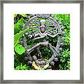 Hindu Statue  Framed Print